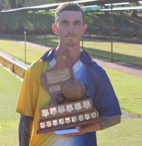 Blake Butler - the 2019 Dyenamic Men's State Singles Champion