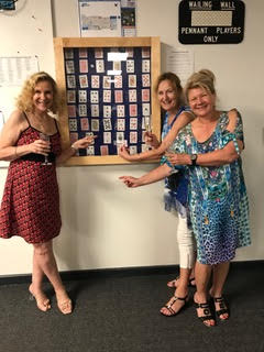 Winner Chase the Ace - Gayle Trish and Fiona